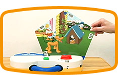 ディズニーの英語システムのカード教材