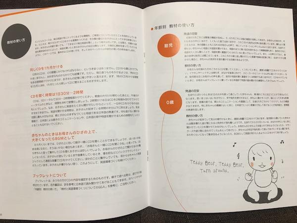 赤ちゃんCD英語教材の使い方