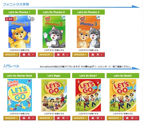 KidsStarEnglishの英語教材